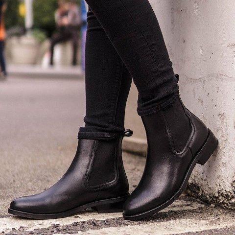 3折起 低至$39.98Little Burgundy 英伦舒适切尔西短靴 多款真皮材质