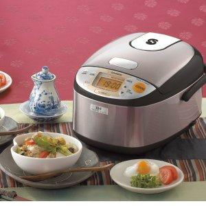 9折+额外9折  $153.89收电饭锅限今天:Zojirushi 象印电饭煲、电水壶等限时热卖