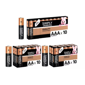 4.9折起 €4.69收AAAX10粒装Duracell 各种型号电池热卖 高效能环保碱性电池 家庭必备