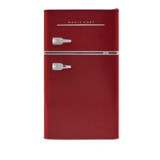 6折 学生党必备Magic Chef 复古红色小冰箱 3.5立方英寸
