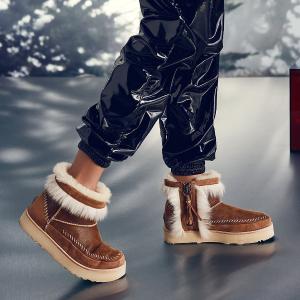低至5折+额外8折 €187收封面毛绒朋克靴UGG官网 精选雪地靴热卖 超值折上折 get明星及时尚博主同款