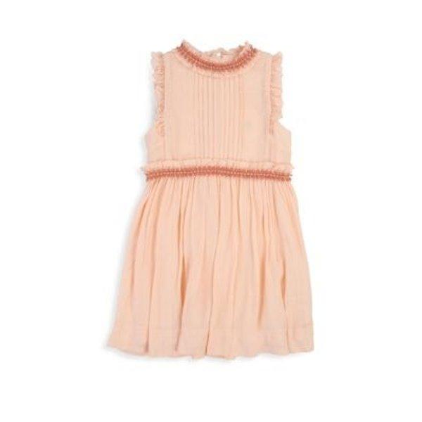 女童刺绣连身裙