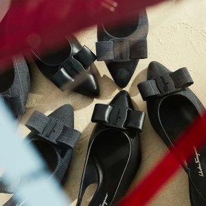 低至6折 收经典Viva蝴蝶结Salvatore Ferragamo 夏季大促 经典美鞋、美包促销