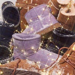 低至3折 居家毛拖$36UGG官网 季中大促 毛毛鞋、雪地靴人气配色限时降价