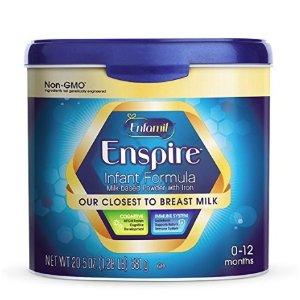 Enfamil Enspire Infant Formula - Our Closest to Breast Milk - Powder, 20.5oz Reusable Tub @ Amazon
