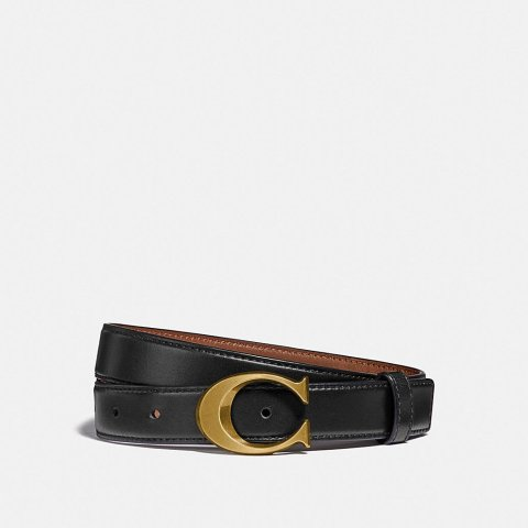 Signature Buckle Belt, 25mm