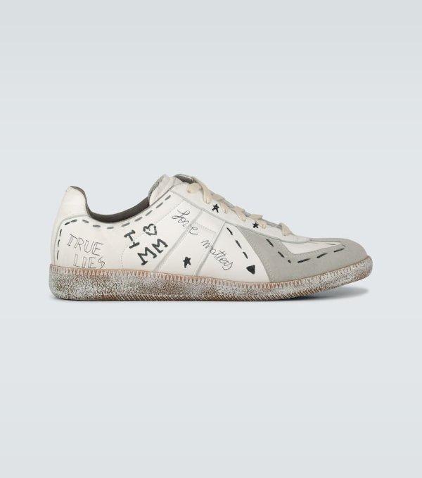 Vintage Graffiti脏脏鞋