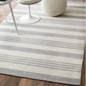 HouzzHand-Tufted Epiphany Eu15 Stripes Rug - Contemporary - Area Rugs - by nuLOOM