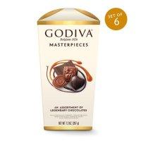 Godiva 巧克力礼盒 6盒装