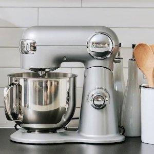 5折 仅$199 5.5夸脱大容量Cuisinart 厨房料理机 宅家做饭好助手 调馅和面做蛋糕 送配件