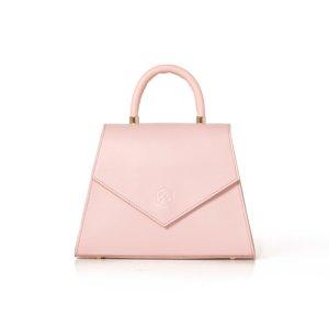 The Jennifer pink Bag - Nina Hauzer | Luxury Leather goods