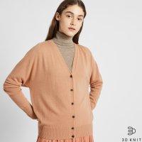 Uniqlo 3D针织 100%羊绒开衫