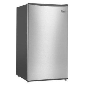 $199 (原价$299)1年保修Esatto EBF112S 112L 不锈钢小型单门冰箱