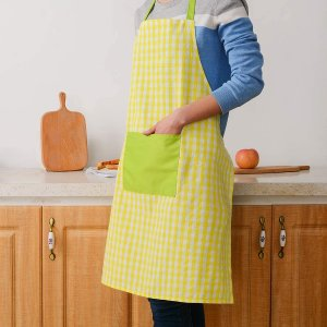 $5.69Egles 2 Pack Cooking Apron Bib with Pocket 28 x 32 Inches
