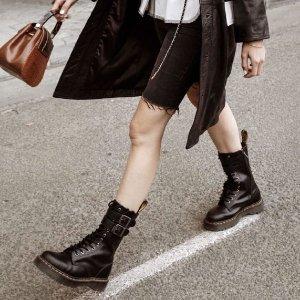 直邮中国+被税即送无门槛代金券THG 时尚7.5折闪促,泫雅同款8孔马丁靴¥900+,小脏鞋新款¥2000+