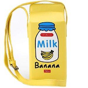 5款可选香蕉牛奶包