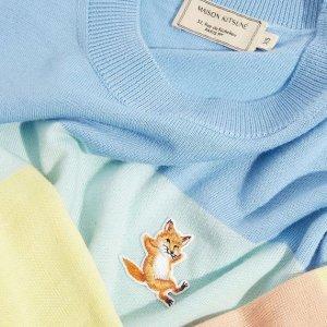 7.5折 €53收小狐狸T恤MAISON KITSUNÉ 法国新晋潮牌热卖 俏皮可爱的小狐狸来啦