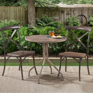$19.99Better Homes & Gardens Camrose Farmhouse Round Slat-Top Table