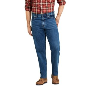 Lands' EndMen's Traditional Fit Jeans