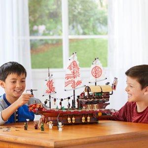 现价£92.99(原价£109.99)即将停产:Lego 乐高 忍者系列 70618 命运赏赐号