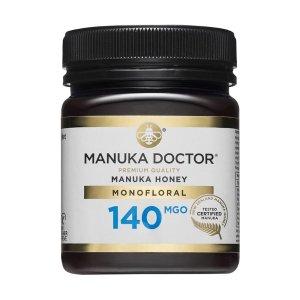 Manuka Doctor140 MGO 250g 高抗菌性蜂蜜