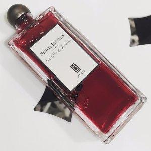 9折 入八月桂花Serge Lutens 香氛产品促销 清色麝香,孤女补货