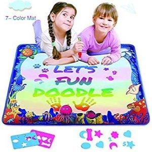 $7.99 随意写画 反复使用 安全卫生Hierceson 魔力水绘毯 无限延伸宝宝们的想象空间