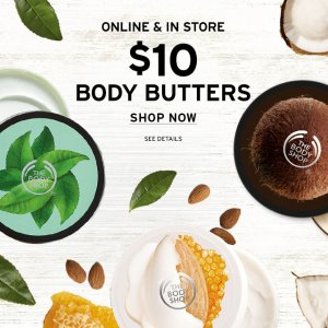 $10 Body Butter Sale @ The Body Shop