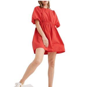 低至3.5折+免邮Madewell 时尚专场,美式休闲风,封面款连衣裙$66