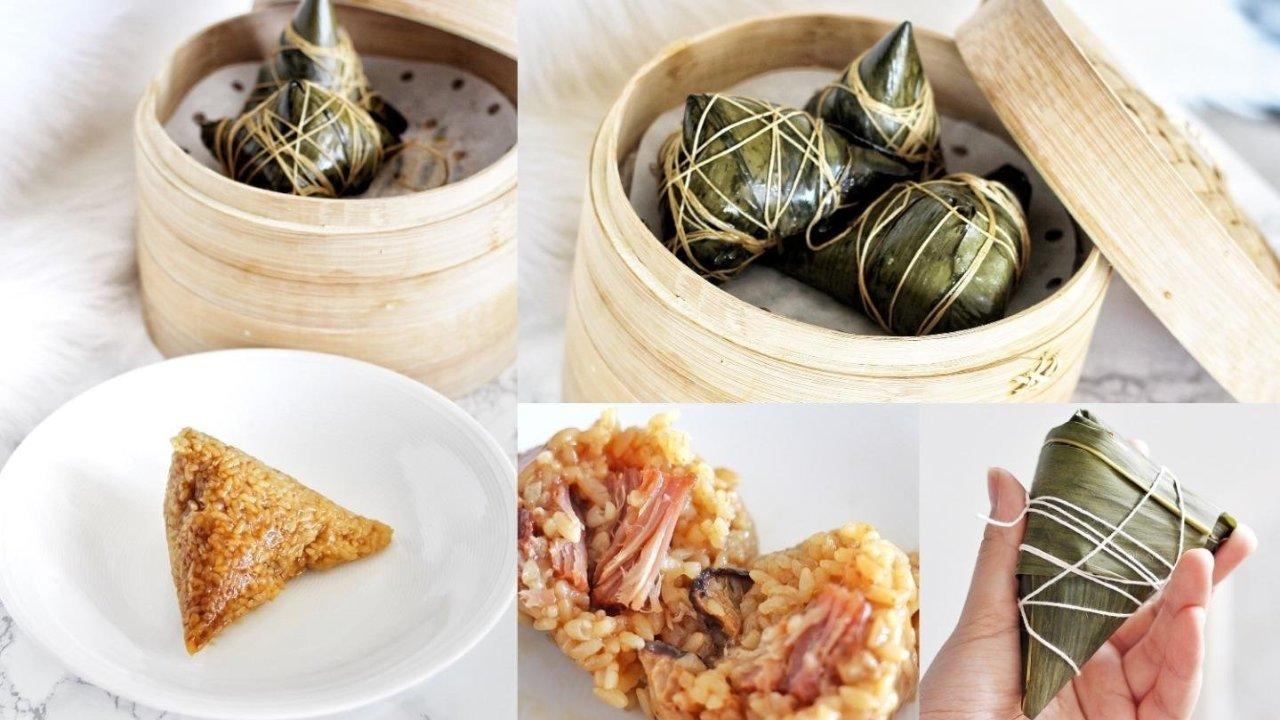 【心满意足过端午】教你自己包6种口味甜咸都有的粽子,在家也能实现粽子自由!