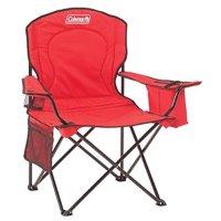 Coleman 户外折叠椅 + 饮料冰袋 红色