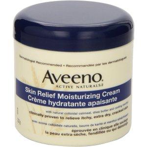 $11.48(原价$15.97)Aveeno 无香料燕麦滋润保湿身体霜 便宜大碗 干燥肌肤必备