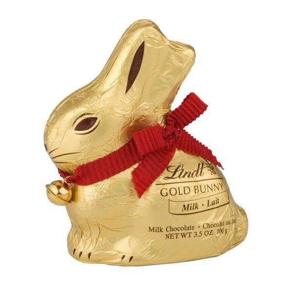Lindt 兔子 牛奶巧克力, 100g