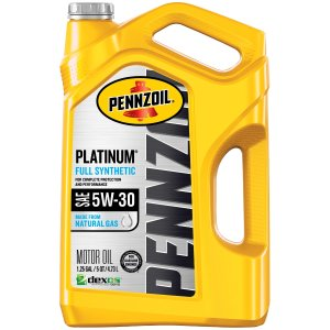 Pennzoil 5W-30白金全合成机油 5夸脱