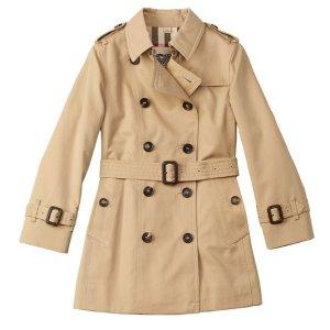 低至$79Burberry 儿童风衣、卫衣、衬衫等特卖