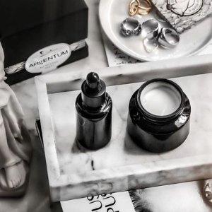 买银霜+洁面皂或卸妆膏送银油ARgENTUM官网 高端护肤买赠活动进行中 €91正装银油免费拿
