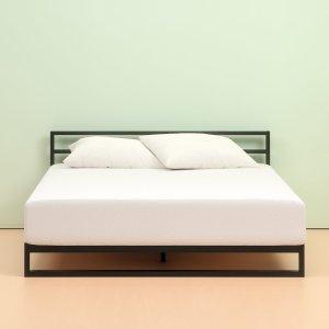 $186.68Zinus 超舒适绿茶记忆海绵床垫 10吋 Queen