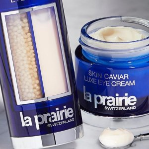 La prairie 精选美妆热促 鱼子酱超值套装 泡沫洁面罕见有货