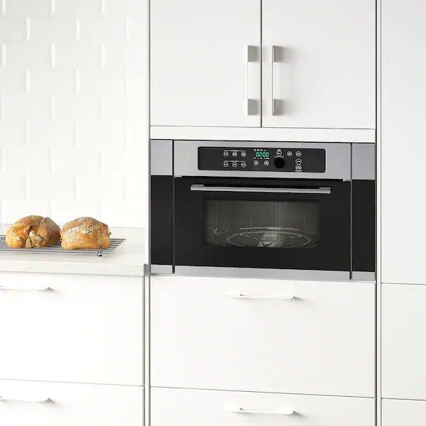 NUTID 不锈钢微波炉烤箱