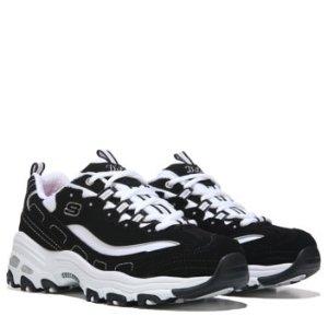 SkechersD'Lites Wide 女款熊猫鞋