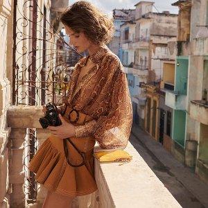 低至6折+额外7.8折+直邮中国Zimmermann 服饰精选热卖,裙摆飘飘,南半球度假之选