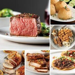 Omaha Steaks免运费菲力牛排、波利尼西亚猪排、炸鸡排等7种餐点套餐