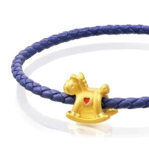 Charme 'Fairytales' 999 Gold Horse Charm | Chow Sang Sang Jewellery eShop