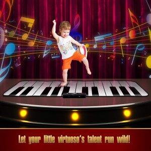 $49.99(原价$99.99)+送礼卡FAO Schwarz 儿童地毯式钢琴玩具