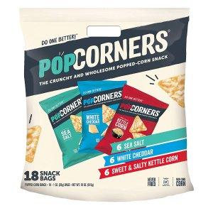 $12.34+包邮PopCorners 烤玉米片混合口味1oz. 18包