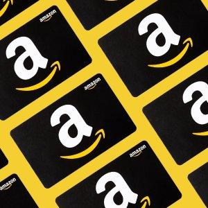 免费送额外$5-$10, 亲测有效Amazon 官网购买$50电子礼卡 限时福利, 提前备战Prime Day