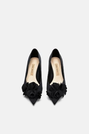 FLORAL HEELS - View all-SHOES-WOMAN | ZARA United States