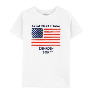 Oshkosh20% off with $40 purchase Family Matching Tee for Kid