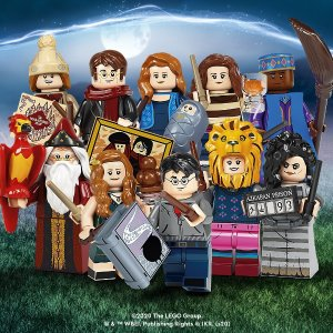 Lego9月1日上市系列2人偶盲袋 71028 | 哈利波特系列