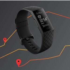 低至7.5折 Charge 4仅需$198Fitbit 智能运动手环、手表 Versa 3新品$342